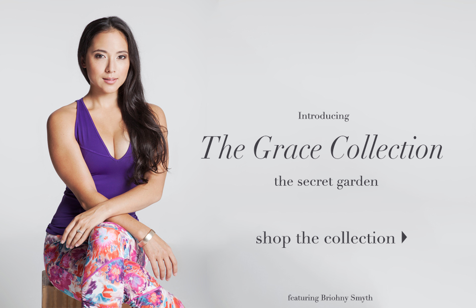 Featuring Briohny Smyth in the Grace Secret Garden Collection