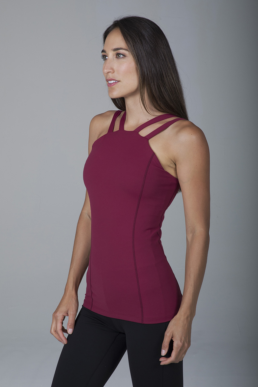 Electra Long & Lean Cami - Brandy
