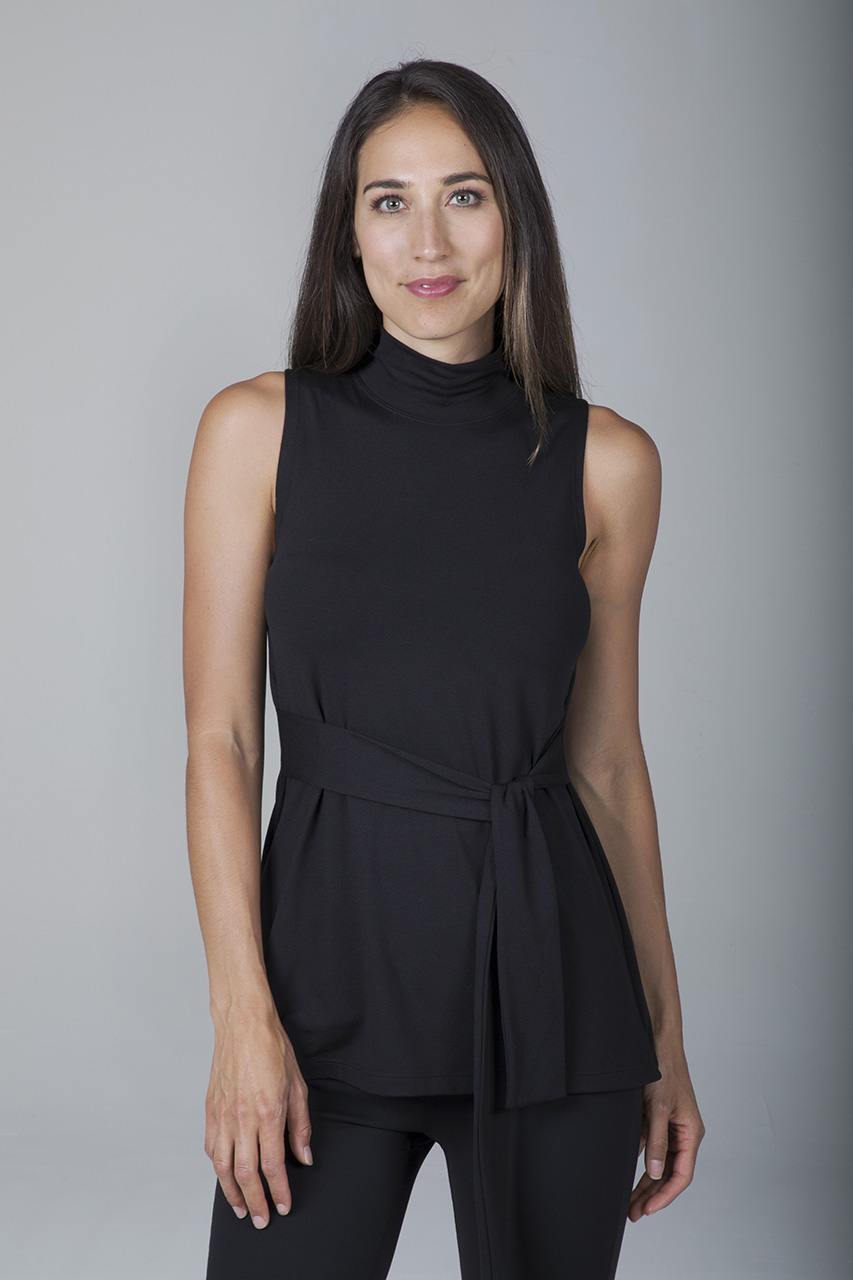 Electra Yoga Tunic - Black