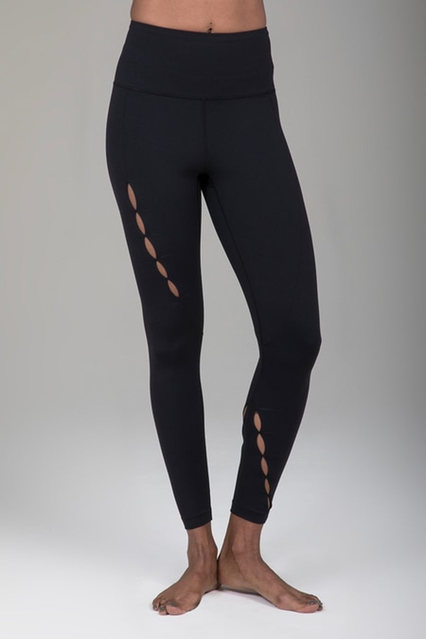 Seva Warrior 7/8 Yoga Legging (Black)