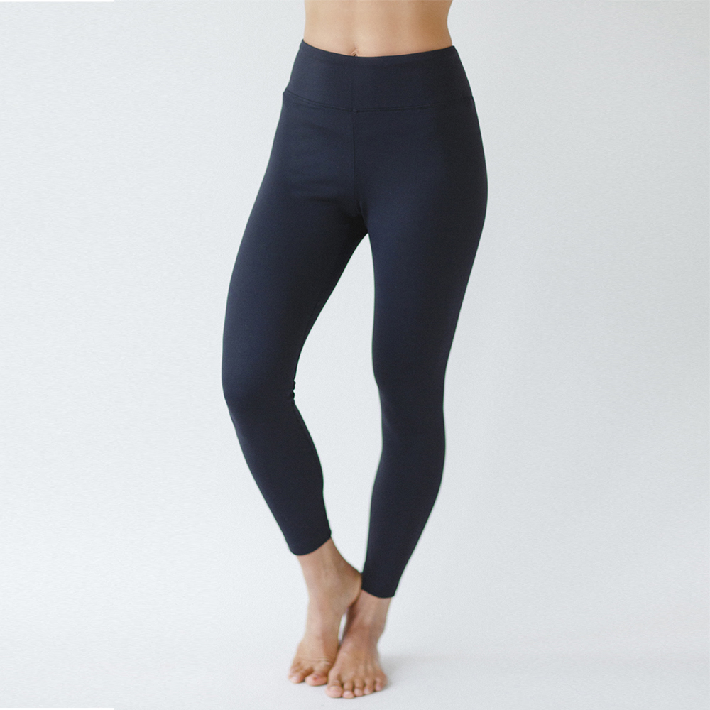 Grace Ultra High Waist 7/8 Yoga Legging in Black
