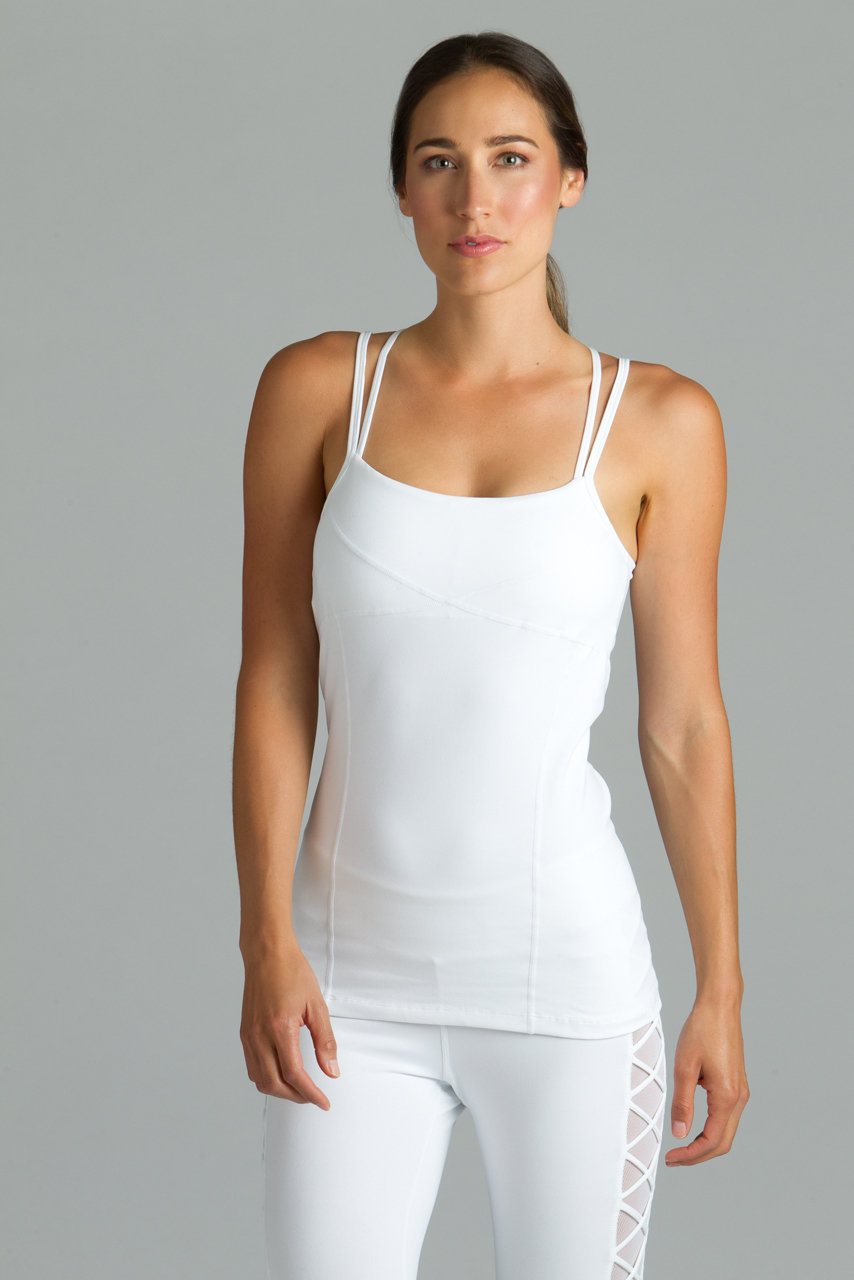 Goddess Corset Cami in White