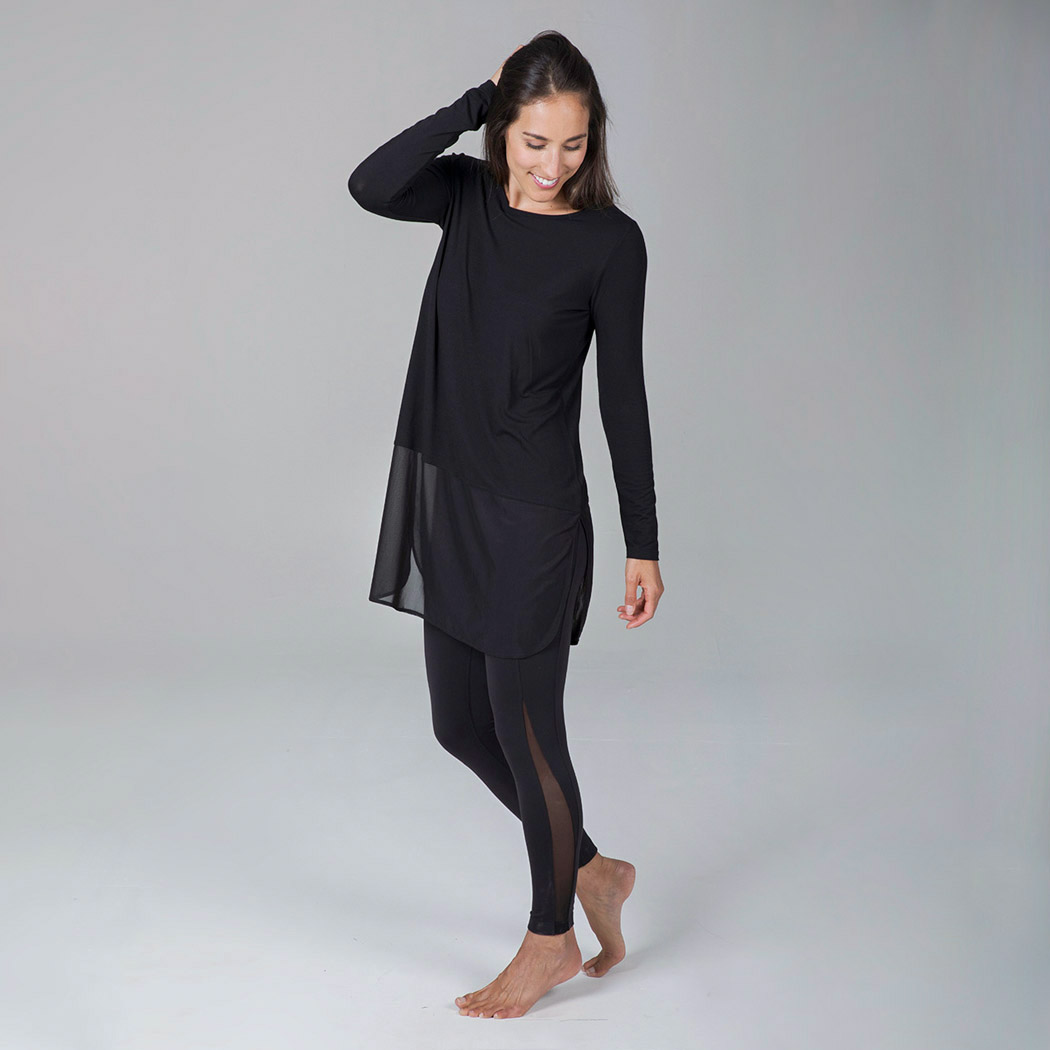 Fly Away Tunic - Black