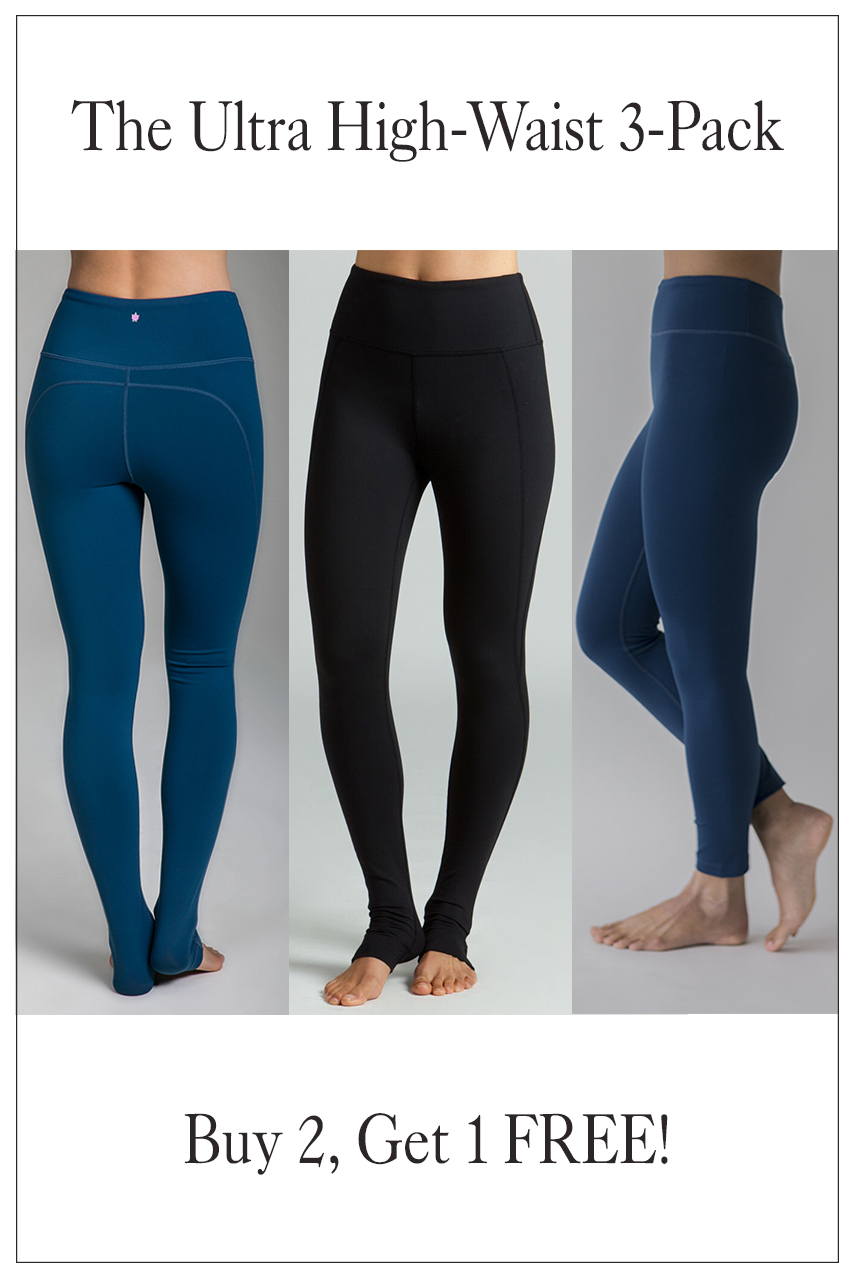The Ultra High Waist 3-Pack