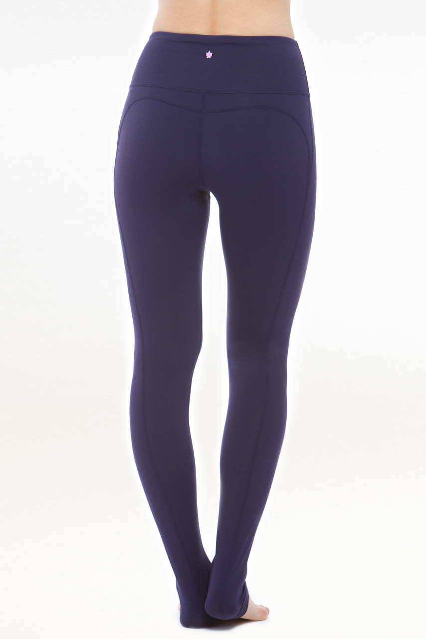 The Glamour Goddess Hi-Waist Yoga Tight (Navy)