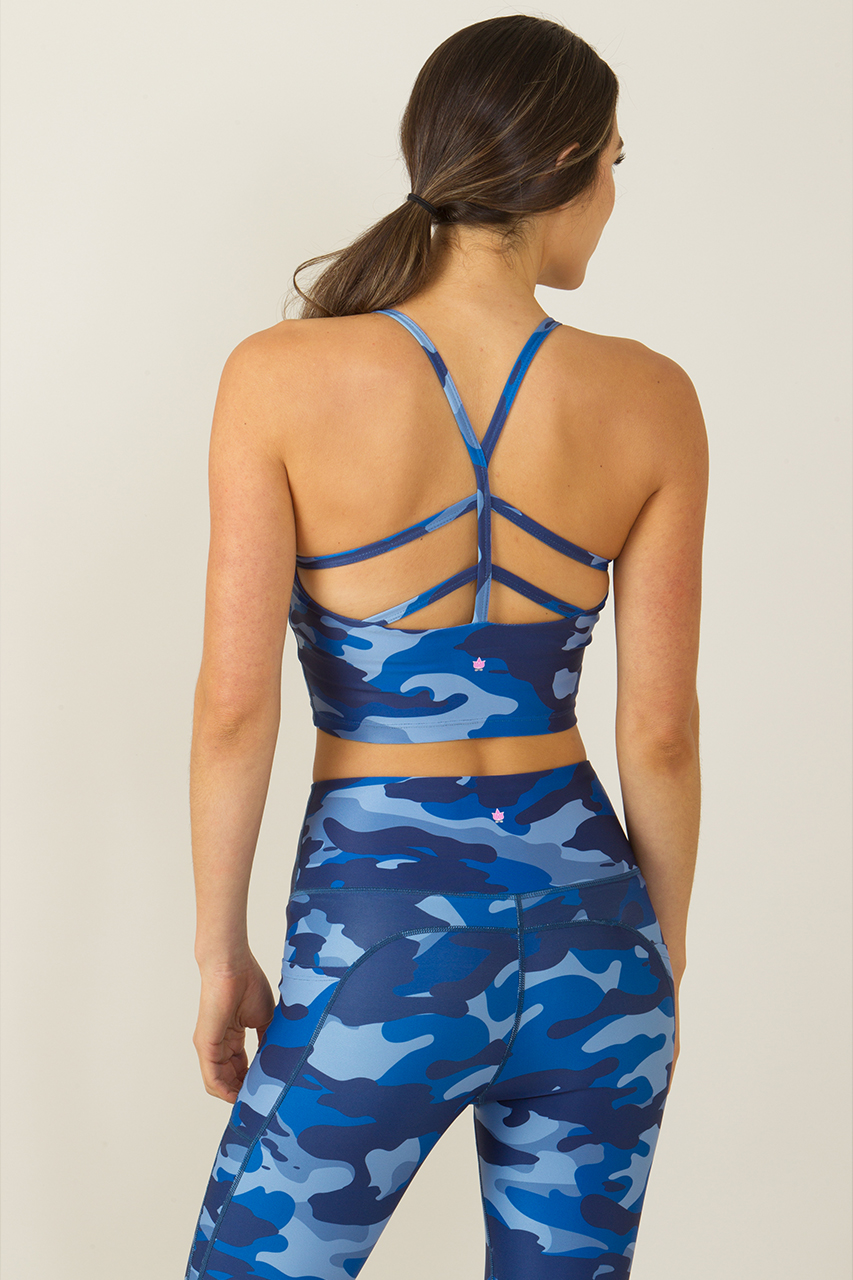 HIIT Workout Gear: Warrior Y-Back Yoga Crop Top