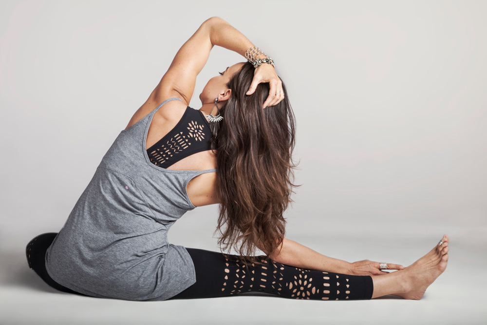 Warrior Laser-Cut Yoga Bra