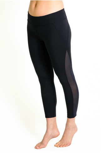 The Romance Mesh Ballet Legging