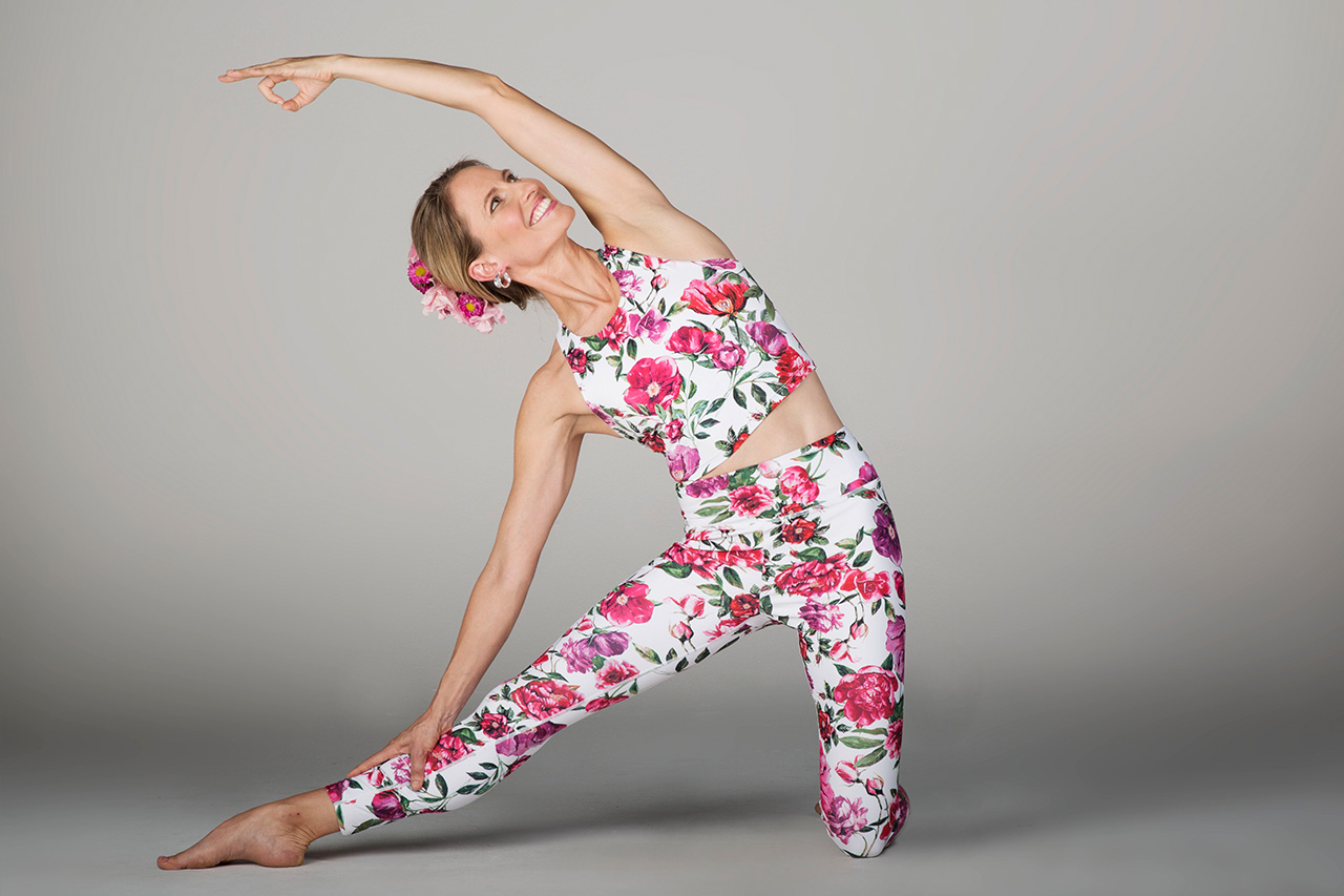 Grace Ultra High Waist 7/8 Leggings - Botanica Print