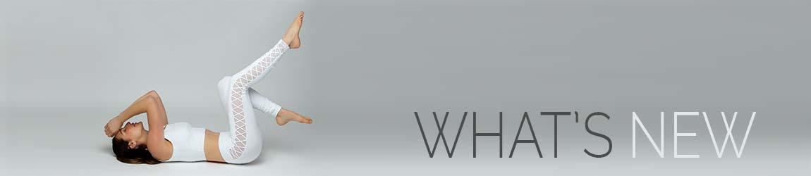 what's new, new collection, Yoga Tanks, Yoga Leggings, Hi-Waist Yoga Leggings